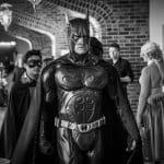 Batman and Robin at Super Megafest